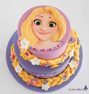 Rapunzel Cake - Cake by Catcakes