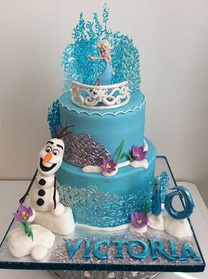 Frozen cake - Cake by Marie-France