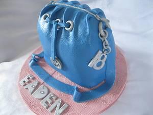 18th mk bag - Cake by jen lofthouse