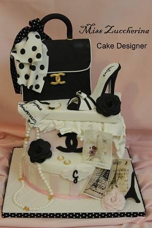 I LOVE PARIS - Cake by Miss Zuccherina cake designer