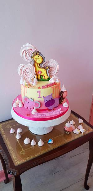 Giraffe cake - Cake by DDelev