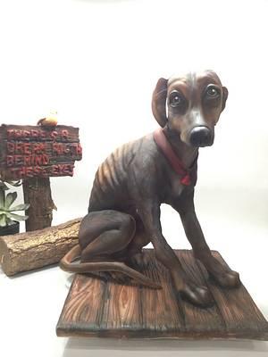 Colaboracion animal Rights - Cake by Mi dulce cake (Mercedes sancho)