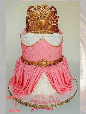 A cake fit for a Princess! - Cake by sophia haniff