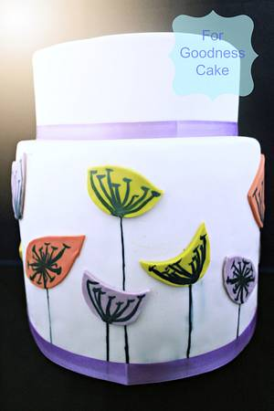 deco flowers - Cake by For Goodness Cake