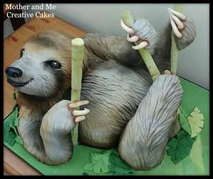 Sloth Cake - Cake by Mother and Me Creative Cakes