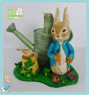 Peter Rabbit cake - CPC Beatrix Potter Collaboration - Cake by Bety'Sugarland by Elisabete Caseiro