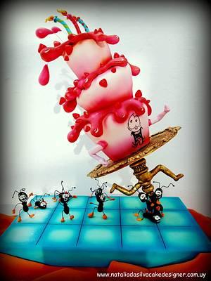 """Ants"" - Cake by Natalia Da Silva Carmona"