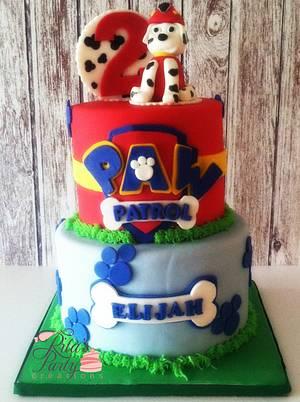Paw Patrol Birthday Cake - Cake by Ritas Creations