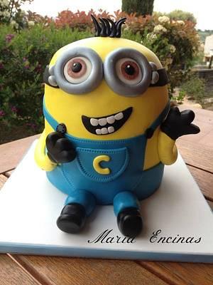 Minión cake - Cake by mariaencinas