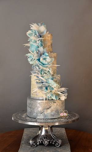 Winter Wonderland - Cake by Sumaiya Omar - The Cake Duchess
