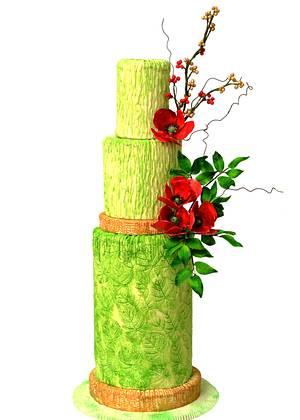 The green beauty... - Cake by Seema Bagaria