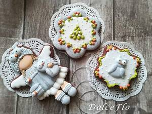 """""""Angels and Owls"""" - Cake by DolceFlo"""