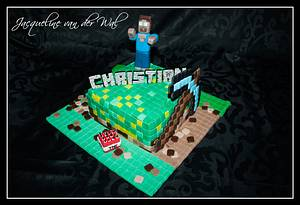 MineCraft for Christian the birthday boy - Cake by Jacqueline