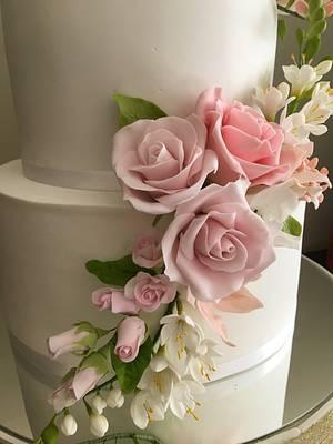 15 años  - Cake by Rossana Ávila