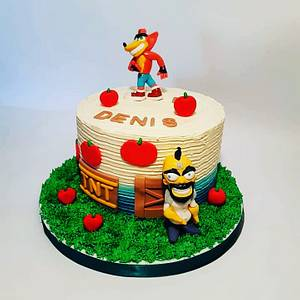 Denis cake - Cake by Zerina