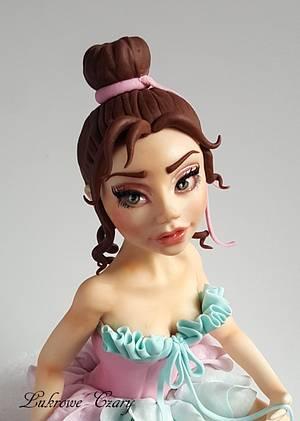 Ballerina cake topper  - Cake by Lukrowe Czary Katarzyna Osiecka