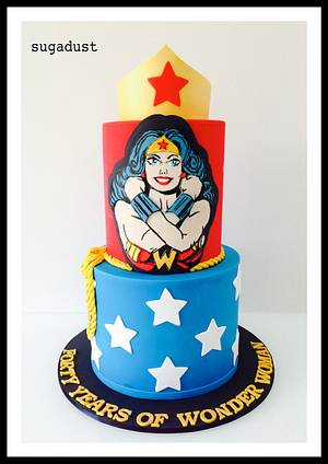 Forty Years of WW - Cake by Mary @ SugaDust