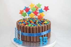Kit kat cake - Cake by Kake Krumbs