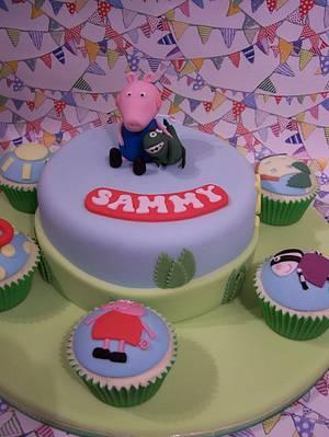 George pig - Cake by SueC