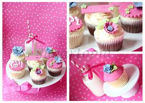 Thank you cupcakes - Cake by Sonia