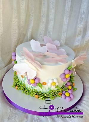 Butterfly cake - Cake by Radmila