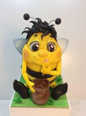 Greedy bee ( collection Easter 2019) - Cake by Carla Poggianti Il Bianconiglio