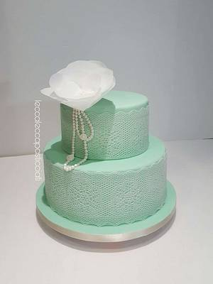Elegant cake - Cake by leccalecca