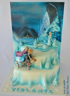 Frozen Cake - Cake by tortedinadia