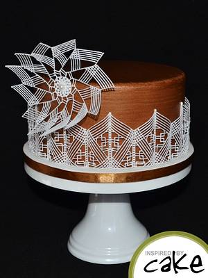 Modern Style Piping with Royal Icing - Cake by Inspired by Cake - Vanessa