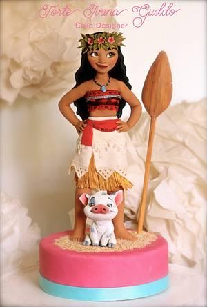 Moana Disney cake topper - Cake by ivana guddo