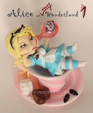 Alice in My Wonderland 1 - Cake by il mondo di ielle