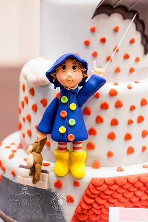 Cloudy with a chance of hearts - Cake by Eleonora Del Greco