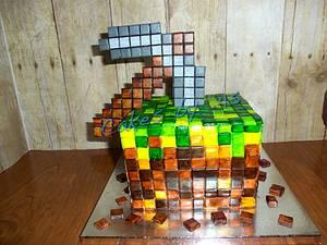 Minecraft Birthday Cake - Cake by Cakes by .45