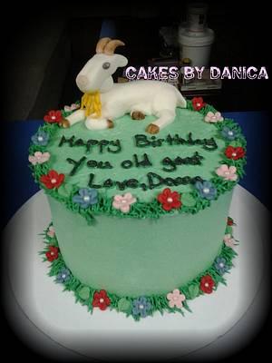 Goat Cake - Cake by Chittenango Cakes