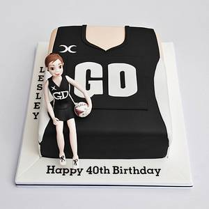 Netball cake - Cake by The Sweet Life Bakes