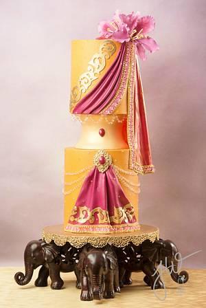 Kachnar Goddess - Cake by Jeanne Winslow