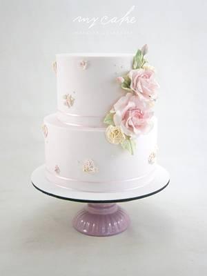 Dulce romance - Cake by Natalia Casaballe