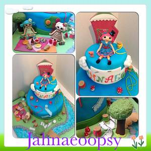 Jahnaeoopsy Cake - Cake by Pauline flash