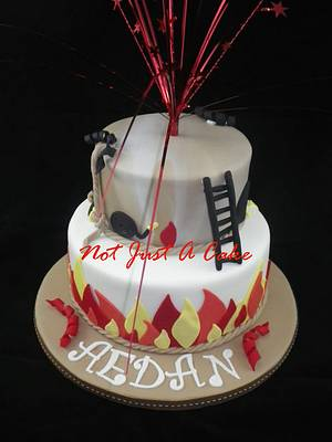 Fire Inspired - Cake by Not Just A Cake