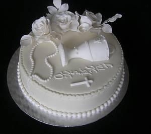 White cake - Cake by Anka