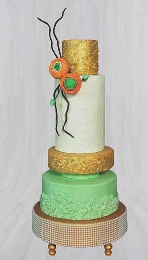She Walks in Beauty - Cake by Drop of sugar