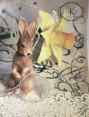 Old Curiosity Shop: Winged Hare - Cake by Karolina Andreas