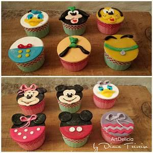Disney CupCakes - Cake by Unique Cake's Boutique
