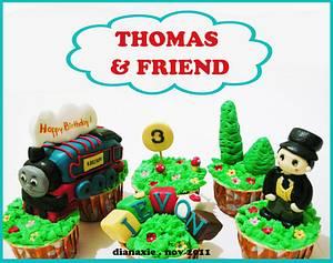 Thomas the Tank Engine - Cake by Diana