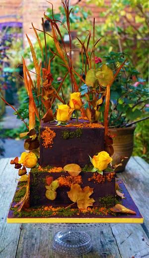 Autumn Colours - Cake by Enrique