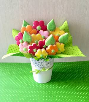 Sweet bouquet 💐  - Cake by sansil (Silviya Mihailova)