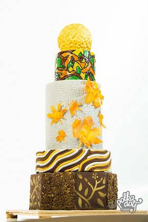 Blooming Autumn - Cake by Lachocolaterie