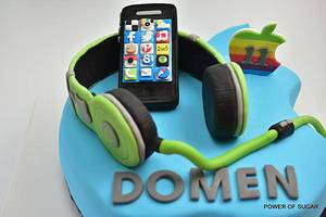Iphone cake - Cake by Power Of Sugar