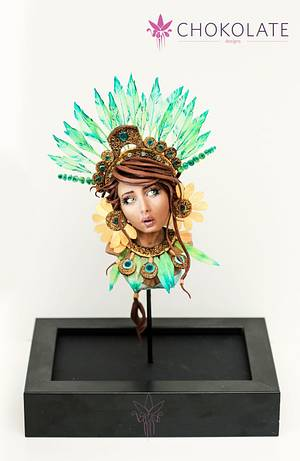 Maya Chocolate buste - Cake by ChokoLate