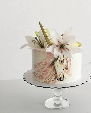 Unicorn - Cake by Evgenia Vinokurova